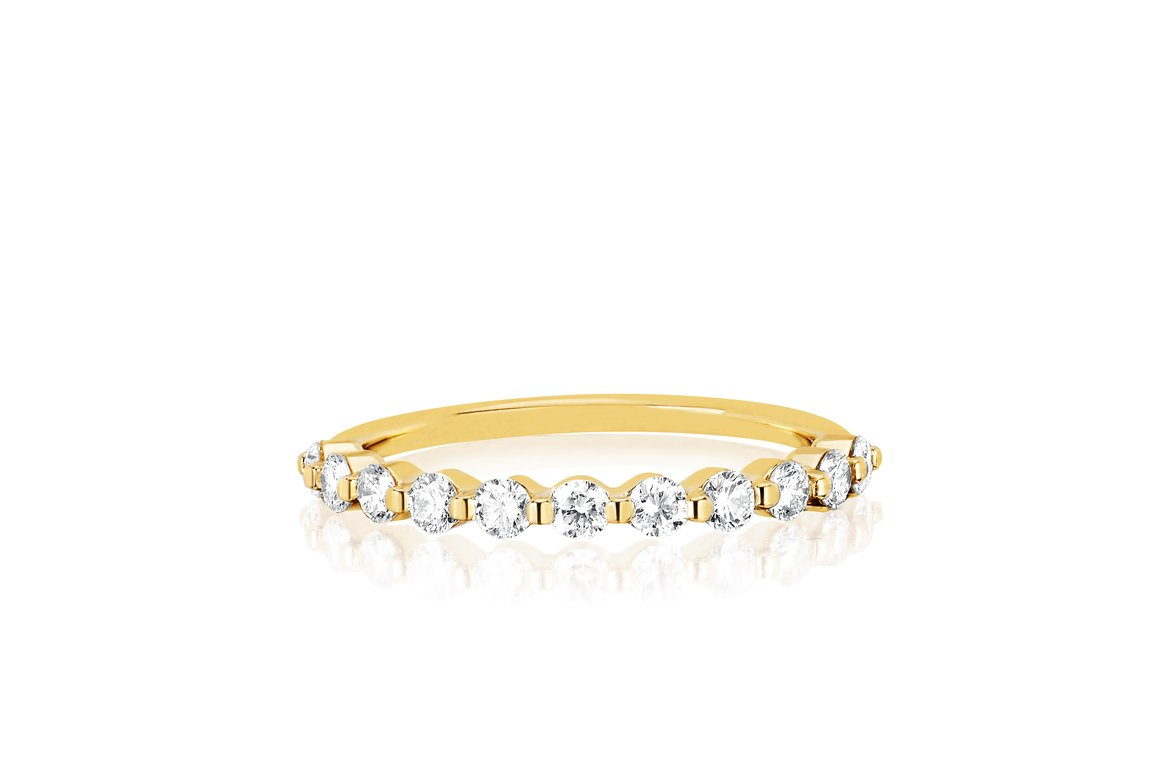 EF Collection Prong Set Diamond Ring